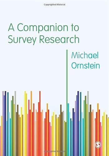 9781446209097: A Companion to Survey Research