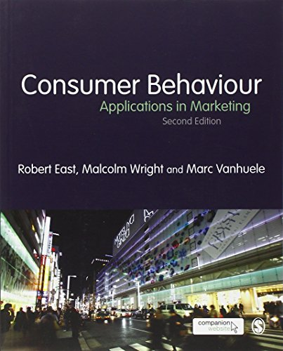 Consumer Behaviour: Applications in Marketing: Vanhuele, Marc, Wright,