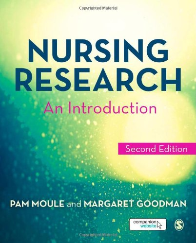 9781446240984: Nursing Research: An Introduction