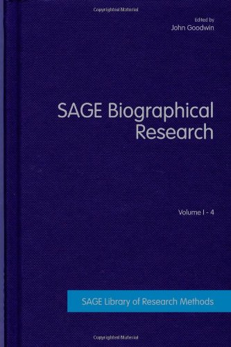 SAGE Biographical Research (SAGE Library of Research Methods): SAGE Publications Ltd