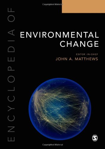 Encyclopedia of Environmental Change: Three Volume Set (Hardback)
