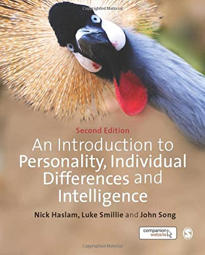 9781446249635: An Introduction to Personality, Individual Differences and Intelligence (SAGE Foundations of Psychology series)