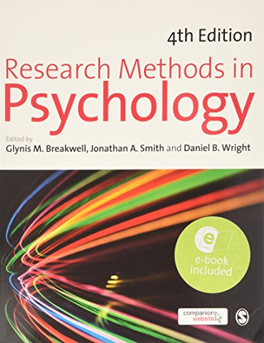 9781446252673: Research Methods in Psychology