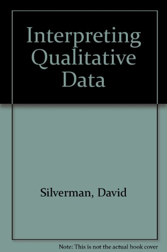9781446252710: Interpreting Qualitative Data