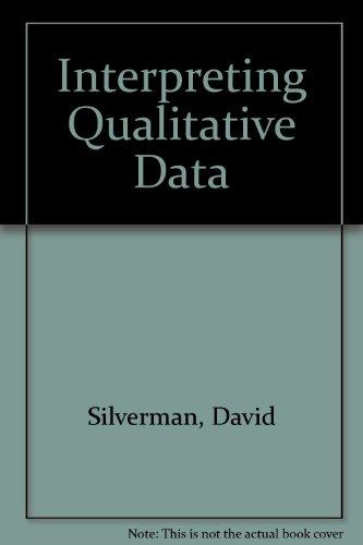 9781446252710: Interpreting Qualitative Data