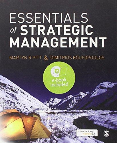 9781446252758: Essentials of Strategic Management