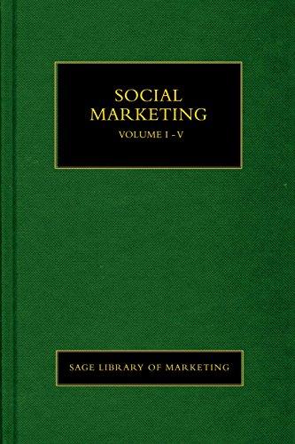 Social Marketing ( 6 Vol. Set)