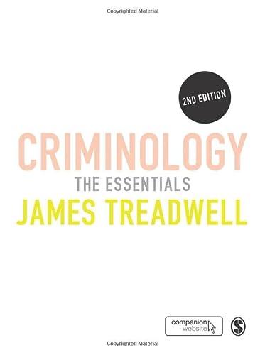 9781446256091: Criminology: The Essentials