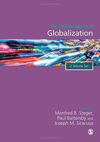The Sage Handbook of Globalization: Steger, Manfred B.