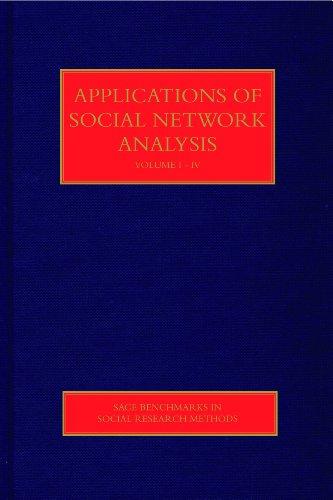 Applications of Social Network Analysis (Hardback)