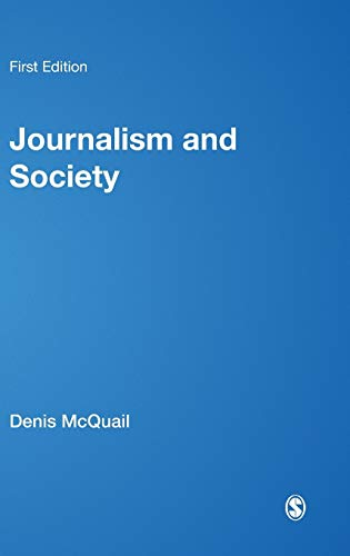 9781446266793: Journalism and Society