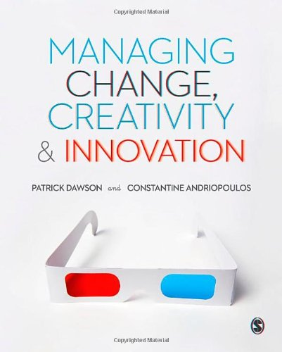9781446267219: Managing Change, Creativity and Innovation