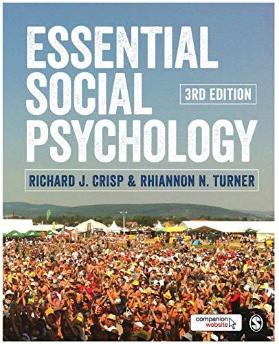 9781446270776: Essential Social Psychology (Sage Edge)