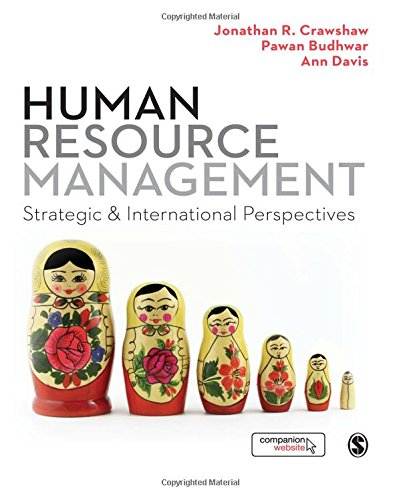 9781446270790: Human Resource Management: Strategic and International Perspectives