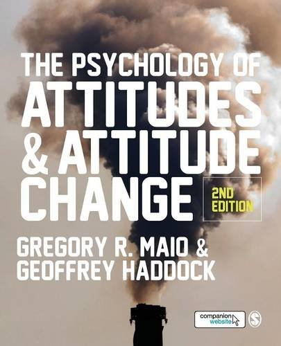 9781446272251: The Psychology of Attitudes and Attitude Change