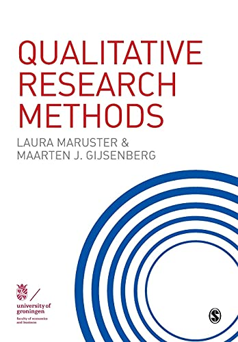 Qualitative Research Methods: Maruster, L