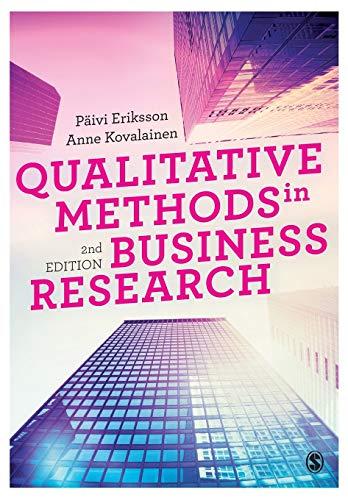 9781446273395: Qualitative Methods in Business Research (Introducing Qualitative Methods series)