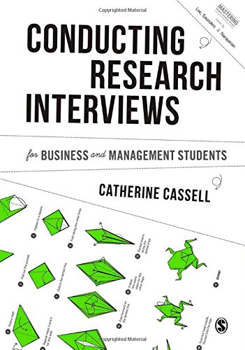 9781446273548: Conducting Research Interviews for Business and Management Students (Mastering Business Research Methods)
