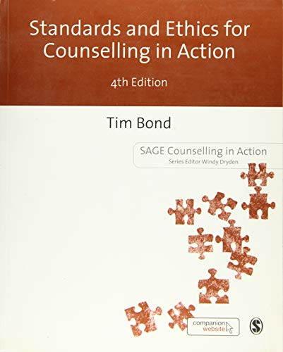 9781446273944: Standards and Ethics for Counselling in Action (Counselling in Action series)