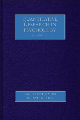 Quantitative Research in Psychology: Miles, Jeremy (Editor)/ Stucky, Brian (Editor)