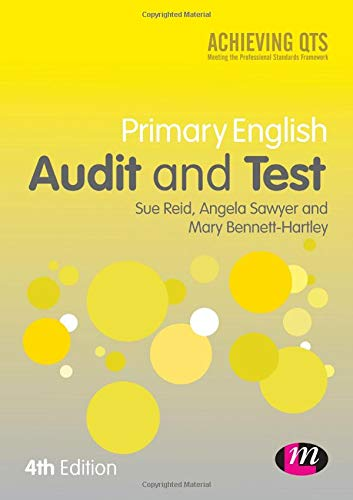 9781446282748: Primary English Audit and Test (Achieving QTS Series)