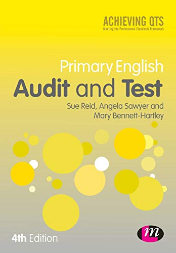9781446282755: Primary English Audit and Test (Achieving QTS Series)