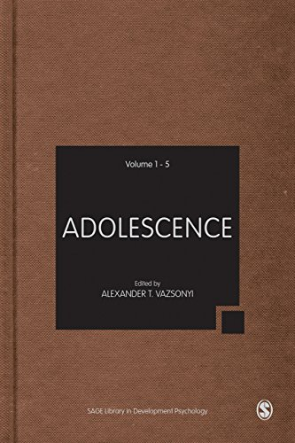 Adolescence: 5 Volumes (SAGE Library in Developmental Psychology)
