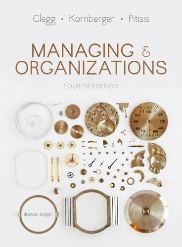 9781446298374: Managing and Organizations: An Introduction to Theory and Practice