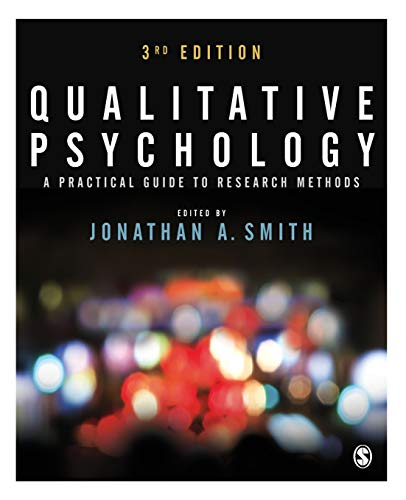 9781446298466: Qualitative Psychology: A Practical Guide to Research Methods
