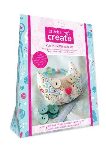 Stitch Craft Create Cat Pin Cushion Kit
