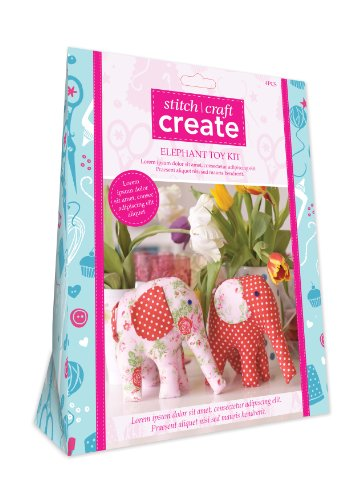9781446304150: Stitch Craft Create Elephant Toy Kit