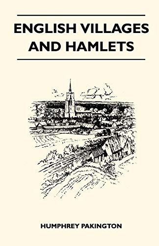 9781446518861: English Villages And Hamlets