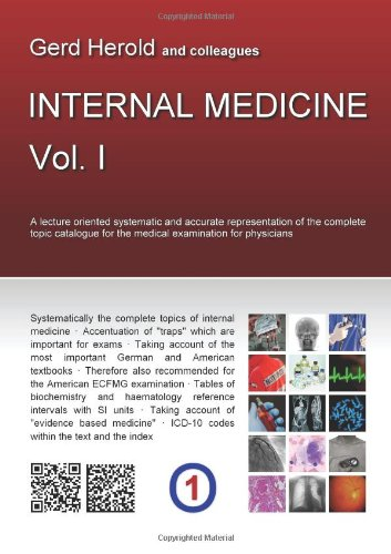 9781446635230: HEROLD's Internal Medicine - Vol. 1