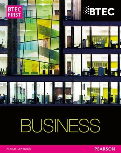 9781446901366: BTEC First Business Student Book