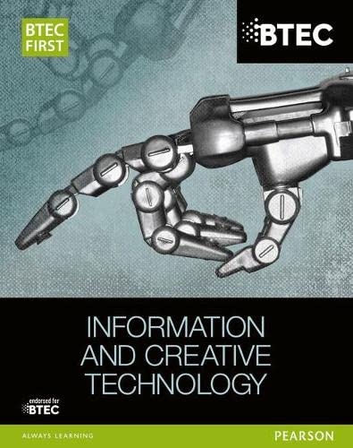 9781446901878: BTEC First in Information and Creative Technology Student Book (BTEC First IT)