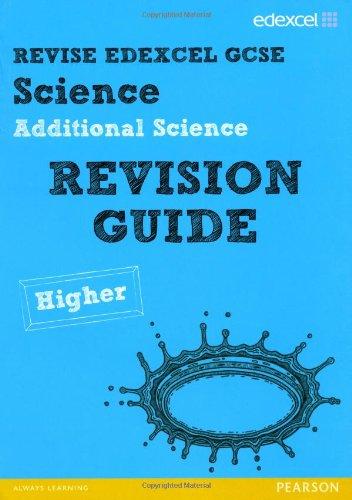 REVISE Edexcel: Edexcel GCSE Additional Science Revision: Johnson, Penny, Kearsey,