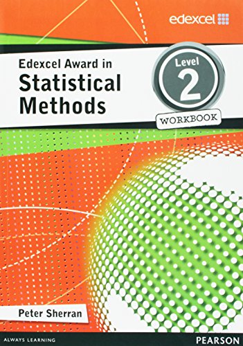 9781446903308: Edexcel Award in Statistical Methods Level 2 Workbook (Edexcel Maths Awards)