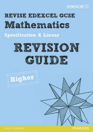 REVISE Edexcel GCSE Mathematics Spec A Linear Revision Guide: Rosi McNab