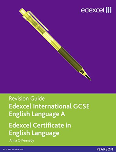 9781446905753: Edexcel International GCSE/certificate English A Revision Guide Print and Online Edition