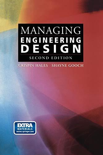 9781447110538: Managing Engineering Design