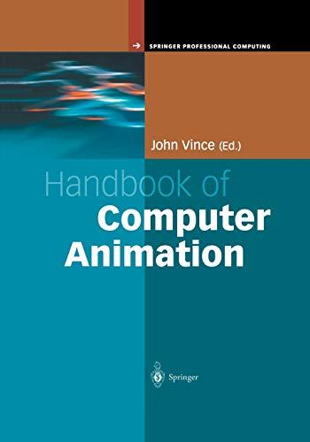9781447111061: Handbook of Computer Animation (Springer Professional Computing)