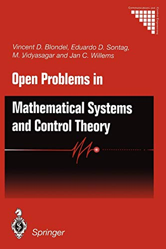 9781447112075: Open Problems in Mathematical Systems and Control Theory (Communications and Control Engineering)