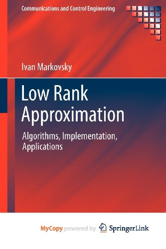 9781447122289: Low Rank Approximation