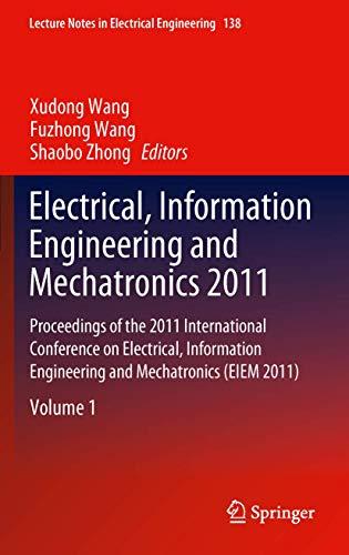 Electrical, Information Engineering and Mechatronics 2011 (Hardback)