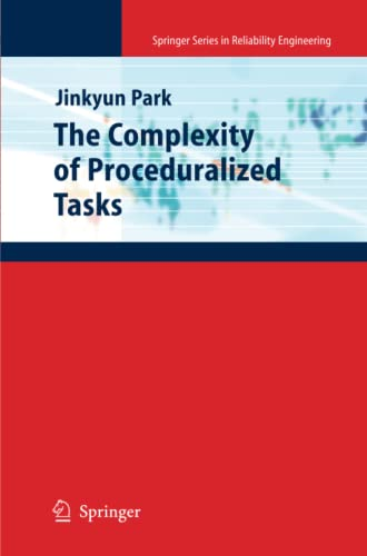 9781447125129: The Complexity of Proceduralized Tasks (Springer Series in Reliability Engineering)