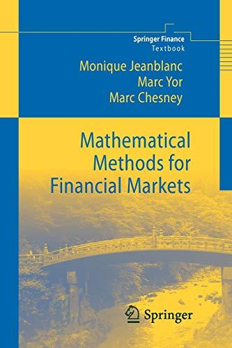9781447125242: Mathematical Methods for Financial Markets (Springer Finance)