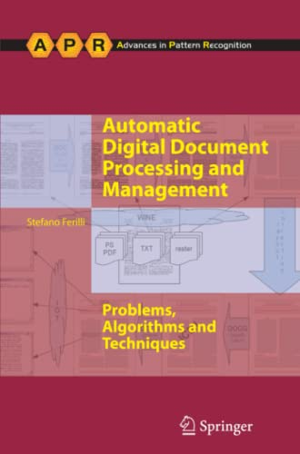 9781447126218: Automatic Digital Document Processing and Management: Problems, Algorithms and Techniques