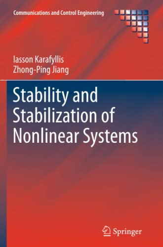 9781447126478: Stability and Stabilization of Nonlinear Systems (Communications and Control Engineering)