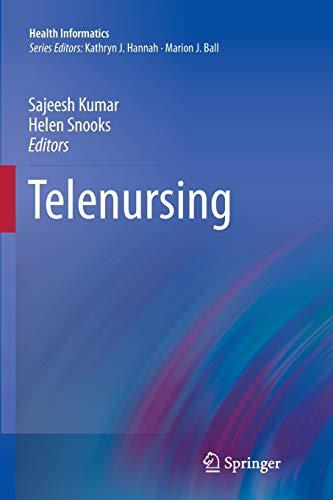 9781447127079: Telenursing (Health Informatics)