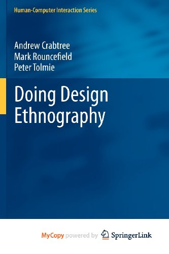 9781447127277: Doing Design Ethnography